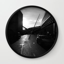 London in Monochrome Wall Clock