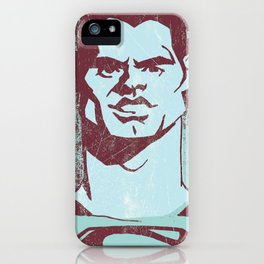 THE MAN OF STEEL iPhone Case