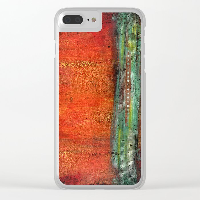 Copper Clear iPhone Case