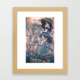 gemini cocoon Framed Art Print