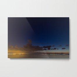 Light pollution Metal Print