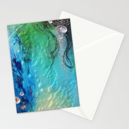 """"""" Magic / Silver """" (2) Stationery Cards"""