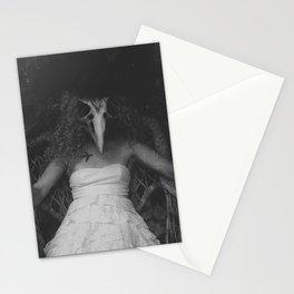 Dead Bird in a Mitten Stationery Cards