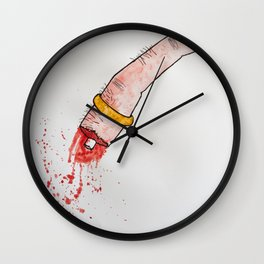 Nothing Last Forever Wall Clock