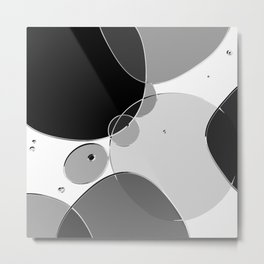 Circle Series - Chrome Metal Print
