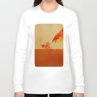 avatar the last airbender Long Sleeve T-shirts featuring Avatar Roku by daniel