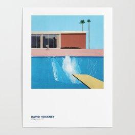 David Hockney Art Exhibition Poster