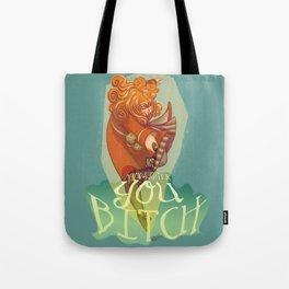 Not my daughter Tote Bag