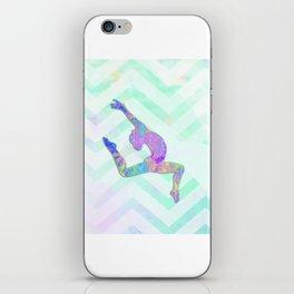 Gymnast Jump iPhone Skin