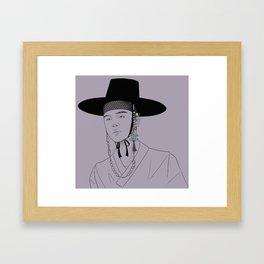 joseon jimin Framed Art Print