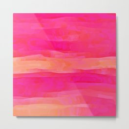 Hot Pink Magic Metal Print