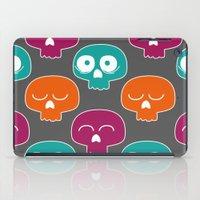 skulls iPad Cases featuring Skulls by Michael Goodson