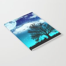 Dreamy Night Notebook