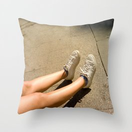 Who Am I Throw Pillow