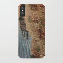 Wild coast of Croisic iPhone Case