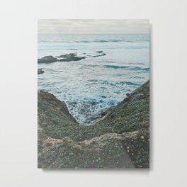 California Coastal Metal Print