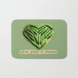 Give Peas a Chance Bath Mat