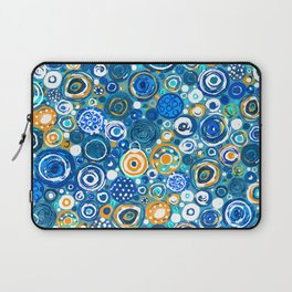 Lost Marbles - Blue Laptop Sleeve
