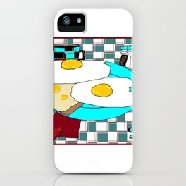 Two Egg Breakfast with Coffee, My Favorite iPhone Case