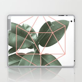 Geometric greenery Laptop & iPad Skin