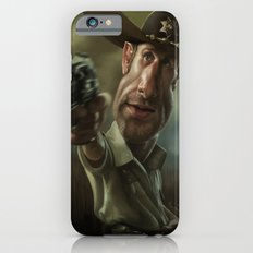 Rick Grimes from 'The Walking Dead'. Slim Case iPhone 6s