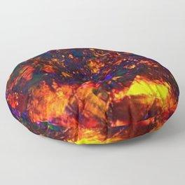 fire opal Floor Pillow