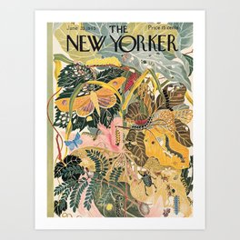 The New Yorker Vintage Cover // 1 Art Print