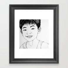 Lucas Fua(Illustration) Framed Art Print