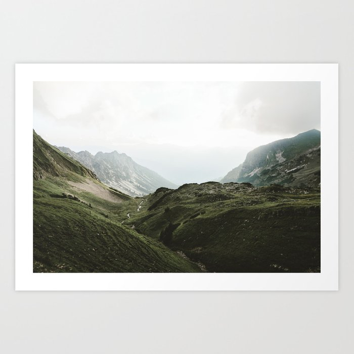 Beam Landscape Photography Art Print