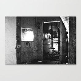 Fallout shelter boiler room Canvas Print