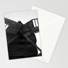Wooden Windmill Stationery Cards