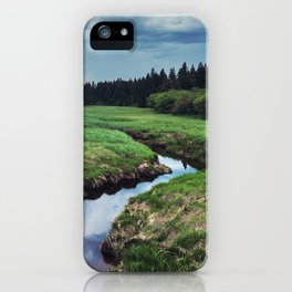 Threatening Stream iPhone Case
