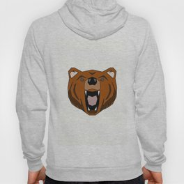 Geometric Bear - Abstract, Animal Design Hoody
