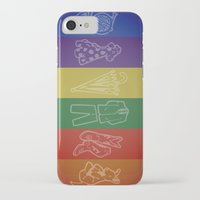 how i met your mother iPhone & iPod Cases featuring How I Met Your Colors by Derek W