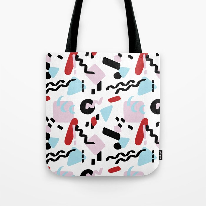Postmodern Party in White Tote Bag
