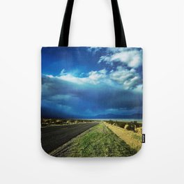 Desert Storm in Death Valley Tote Bag