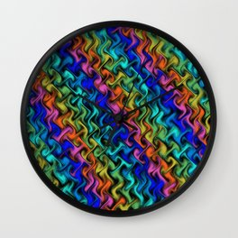 A Mystical Abstraction Wall Clock