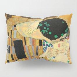 The Famous Kiss by Gustav Klimt Pillow Sham