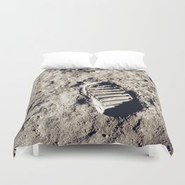 One Giant Leap For Mankind Duvet Cover