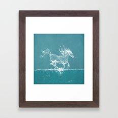 The Water Horse Framed Art Print