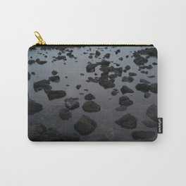 Mirrored Rocks Carry-All Pouch