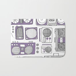 Boom Boxes Bath Mat