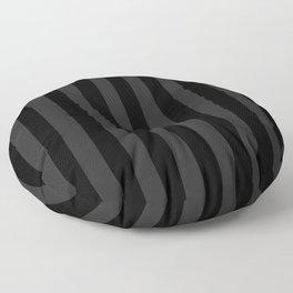 Goth'd Damask Stripe Floor Pillow