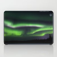 northern lights iPad Cases featuring Northern Lights by Pamela Barron