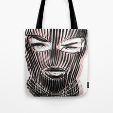 Badwood 3D Ski Mask Tote Bag