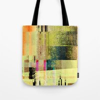 Tote Bags featuring counterpart 3 by David Mark Lane
