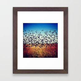 Free as we will ever be. Framed Art Print