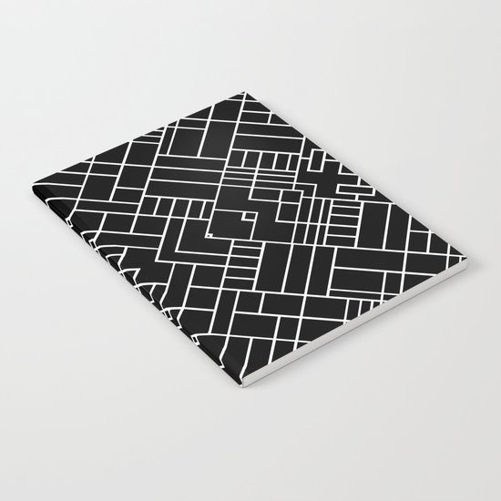 PS Grid 45 Black Notebook
