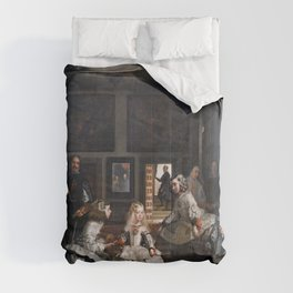 Diego Velazquez, Las Meninas, 1656 Masterpiece, Wall Art, Prints, Posters, Tshirts, Men, Women, Kids Comforters