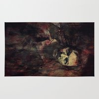 daryl Area & Throw Rugs featuring Daryl Dixon by Sirenphotos